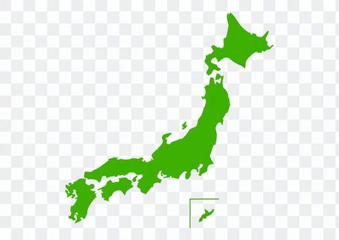 日本地図のイラスト01
