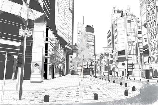 城市角落基調