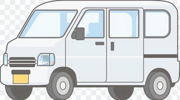 汽车01  - 轻型面包车 - 单件 - 整体