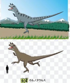 食肉牛龍恐龍老獸腳亞目食肉動物