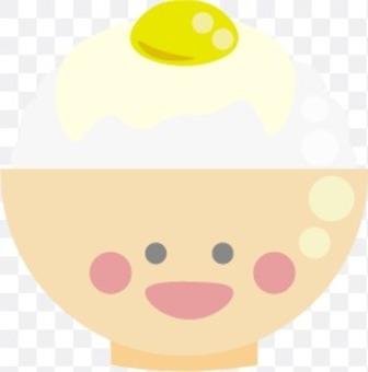 可愛的雞蛋飯