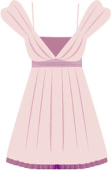 粉紅色裙子