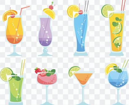 各種熱帶飲料