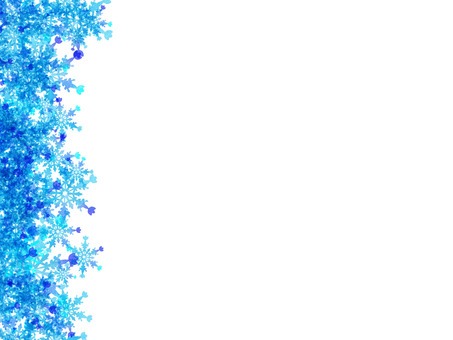 Snow frame (vertical)