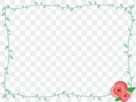 簡單的玫瑰框架2