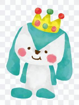 兔皇冠玩具玩具