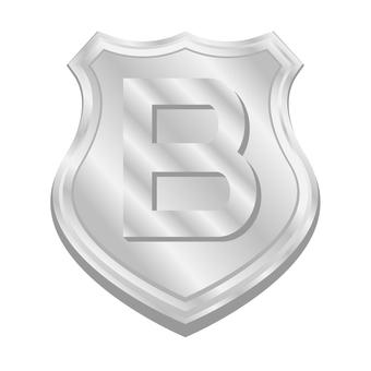 B rank medal emblem