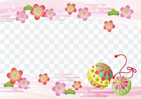 日式框架手球