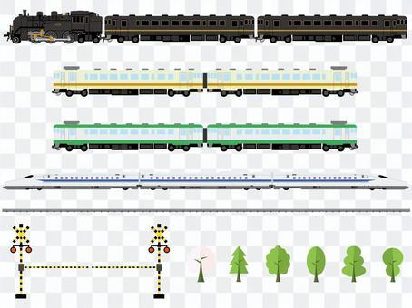 火車插畫集
