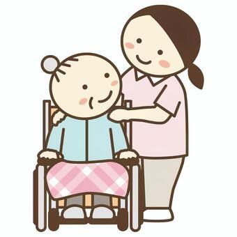 Caregiver/Nursing staff/Home helper 1