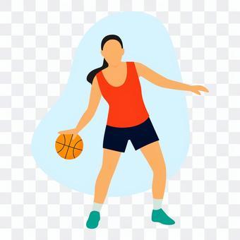 運球的女人