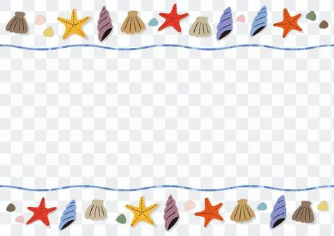 Seashell frame 1