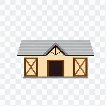 Fashionable house