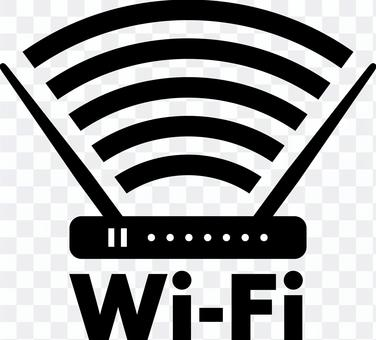 Wi-Fi wifi路由器剪影