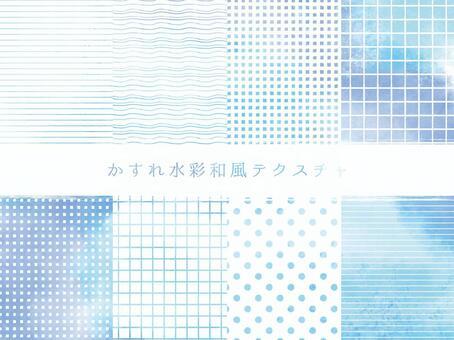 水彩風格日本模式集