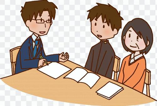 School / tripartite interview / career guidance