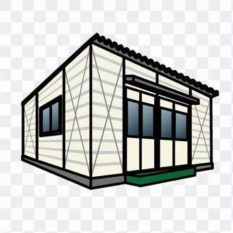 集裝箱小屋