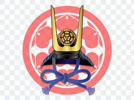 頭盔 - 進入一個冠(龍Soga部門原始父母)