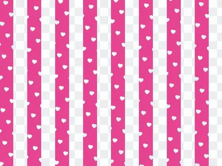 心點x條紋:粉紅A