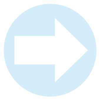 右箭頭藍色