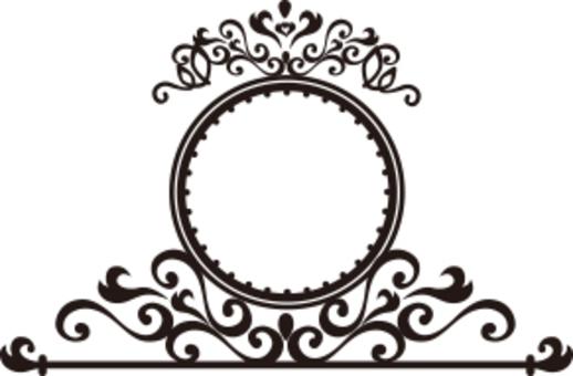 裝飾框架輪