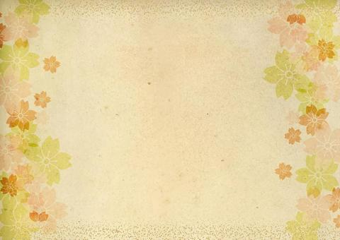 Japanese style background material 25