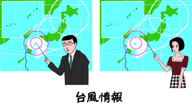 天氣預報 天氣 颱風 男 女