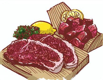 肉〜(有色)