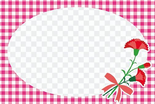 母親節康乃馨相框06