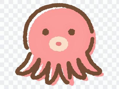 章魚face_hand繪製