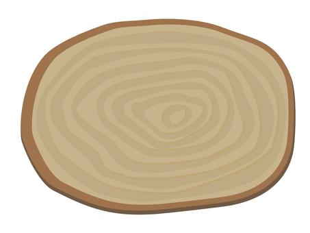 木牌(圓圈)