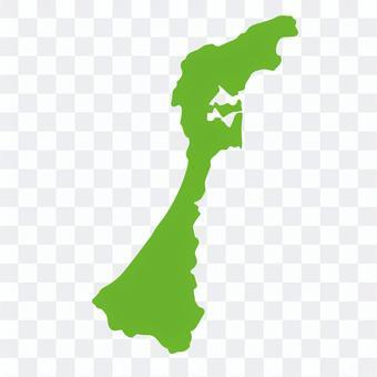 石川県:地方地図
