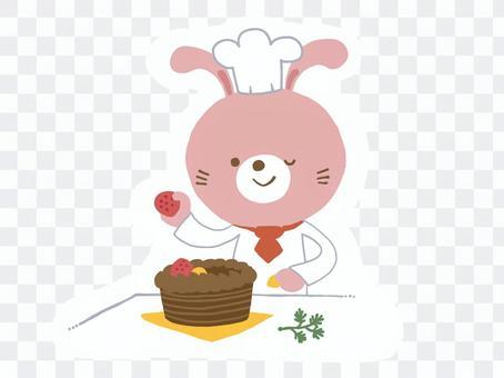 糕點師傅兔子