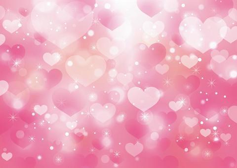 心臟和閃耀的背景09