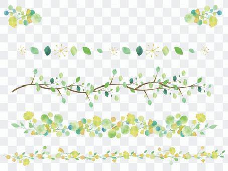New green line set ver 01