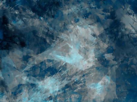 夢幻般的冰紋理背景