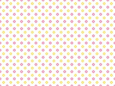 背景圖案13_簡單圖案,粉黃色
