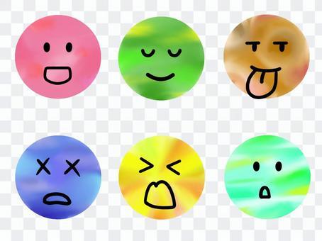 各種面部表情3