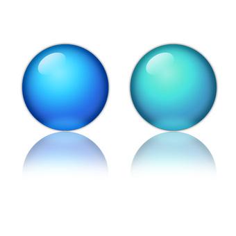 球(反射)