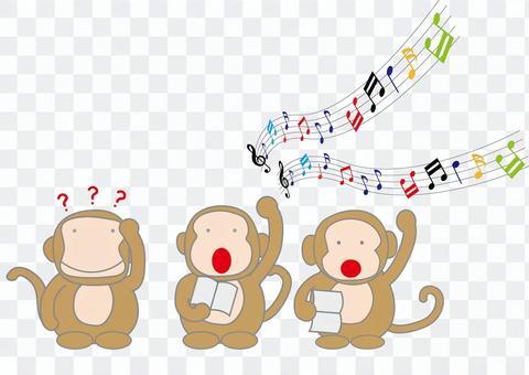 猴子合唱(系列)
