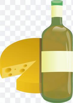 ワイン   チーズ