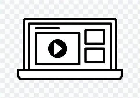 動画サイト ノートパソコン