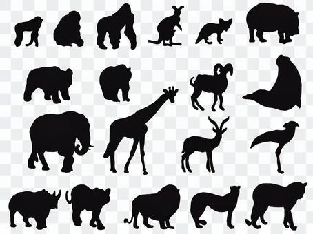 Animal icon illustration