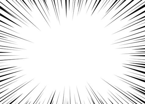 徑向集中線3(少線)