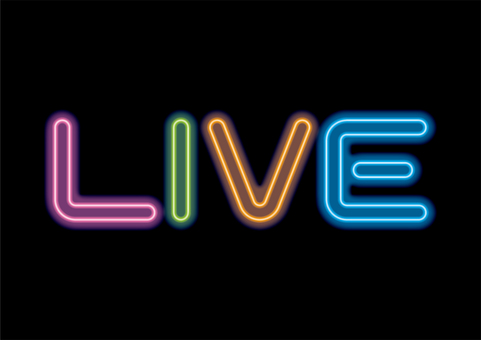 多彩霓虹燈 LIVE