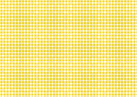格子檢查紋理04 [黃色]