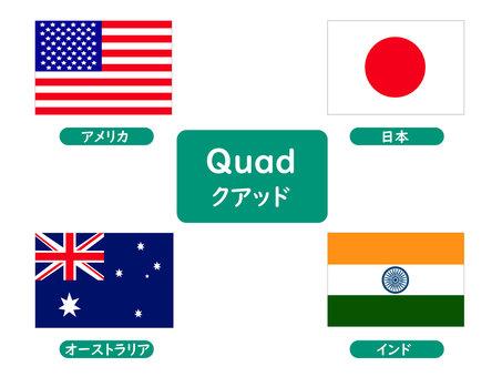 日美澳印戰略對話 Quad Quad