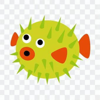 Green fish 5