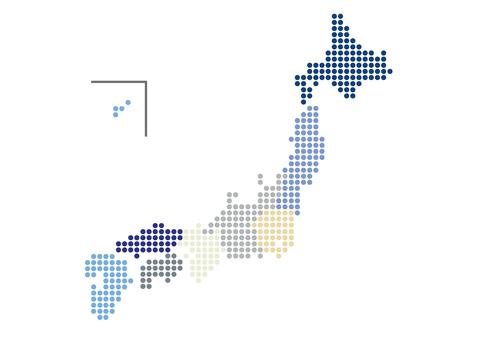 日本地圖_dot_no縣名_buml