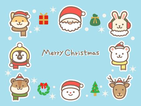 Christmas_animal_face